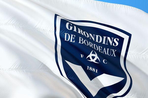 Le drapeau du club des Girondins de Bordeaux