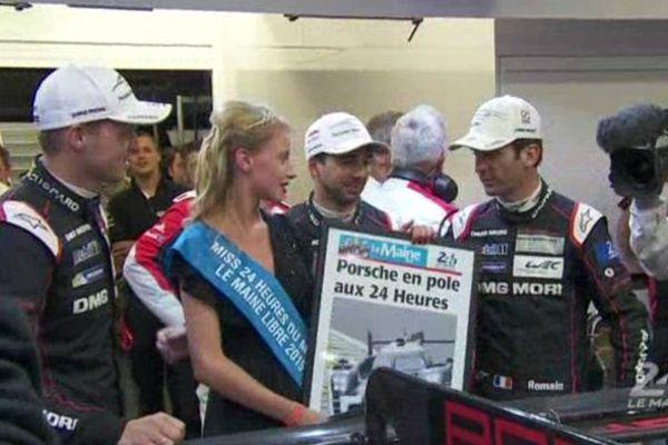 Le pilote gardois Romain Dumas, vainqueur en 2010 avec une Audi, concourt cette année pour Porsche aux mythiques 24h du Mans.