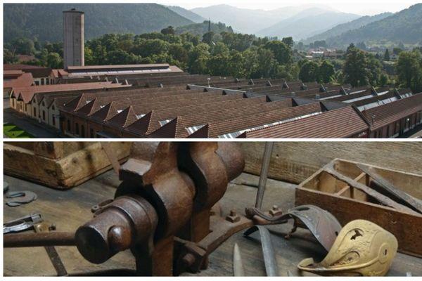 Le musée du textile de Wesserling et la manufacture royale de Klingenthal, deux sites industriels à voir en Alsace.