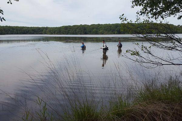 Le lac de Trémelin à nouveau ouvert au public