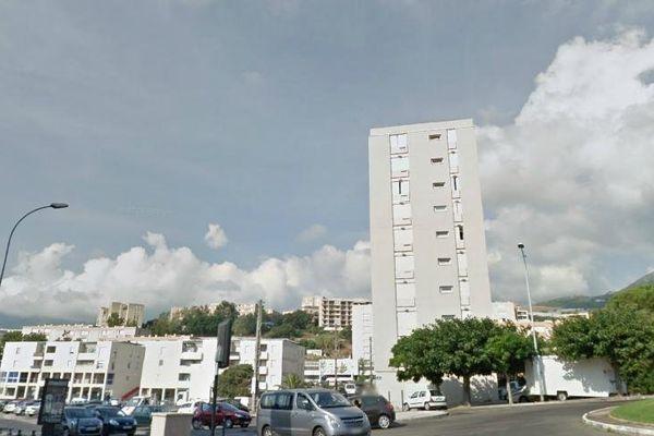 Le quartier de Lupino à Bastia