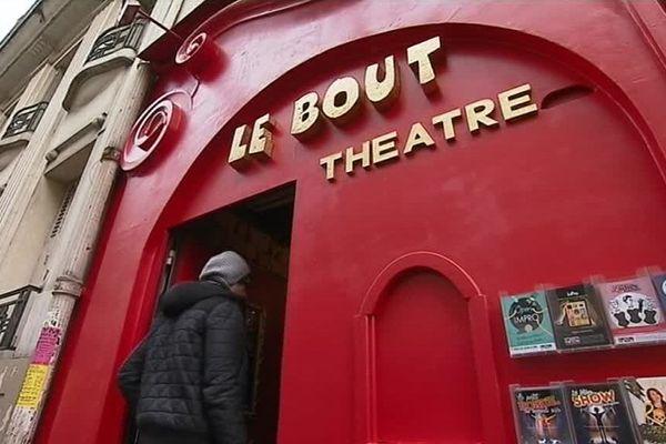 Depuis 20 ans, le Théâtre Le Bout accueille une école pour comédiens qui souhaitent faire de l'humour.