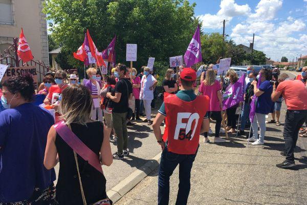 70 manifestants ont répondu à l'appel des organisations syndicales