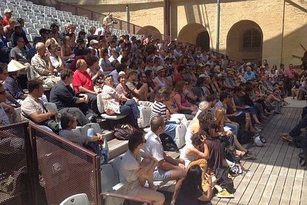 Montpellier - Assemblée générale des intermittents de mardi à l'Agora- 10 juin 2014.
