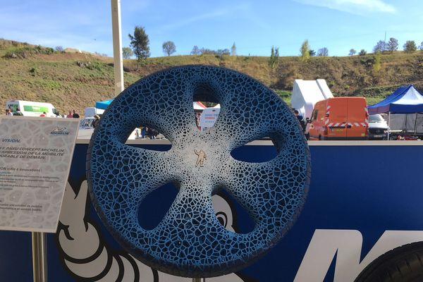 Ce pneu du futur est fabriqué à partir de matériaux biodégradables et pourrait être commercialisé...dans 30 ans !