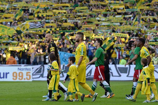 Le match du sacre à la Beaujoire la semaine dernière pour le FC Nantes celui de la montée en Ligue 1