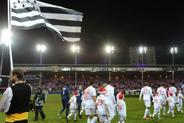 L'équipe de Brest reçoit le PSG au stade Francis-Le Blé