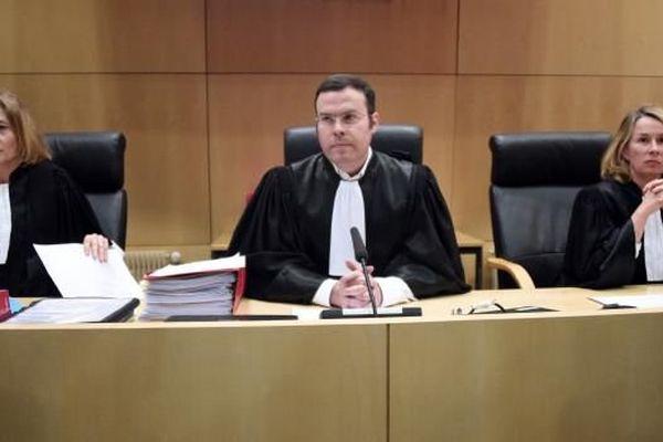Le président du tribunal, Nicolas Léger, au palais de justice de Rennes (Ille-et-Vilaine), le 16 mars 2015.