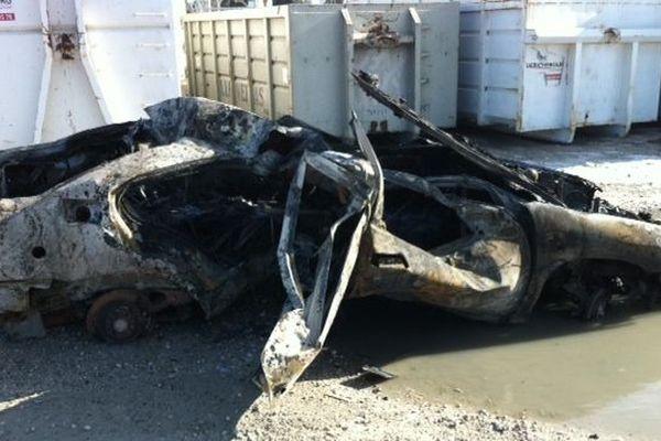 C'est le stock de véhicules GPL qui a le plus souffert de l'incendie