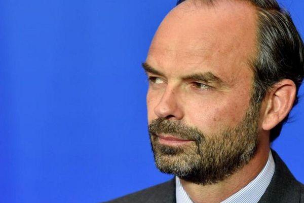 Le Premier ministre Edouard Philippe lors d'une conférence de presse à Matignon, le 6 juin 2017 à Paris.