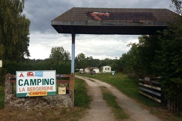Le camping de Melisey, réputé pour être le moins cher de France.
