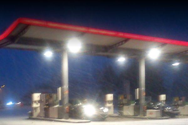 La rixe a eu lieu dans cette station-service de Steenvoorde sur l'A25