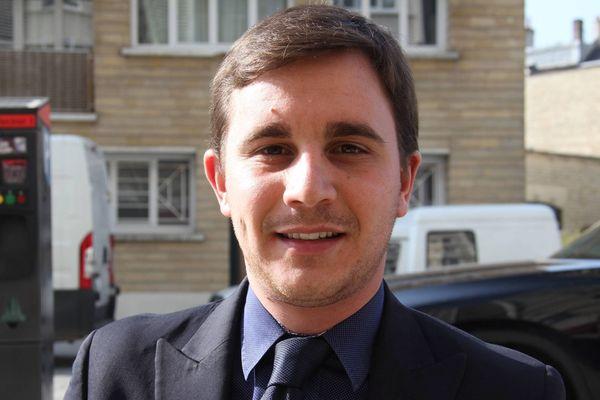 Romain Bail, le maire de Ouistreham depuis 2014.