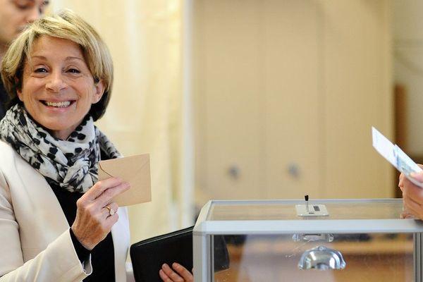 Brigitte Barèges, a été réélue maire de Montauban