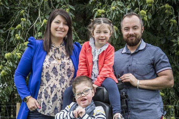 Jules et sa famille habitent Bourgbarré