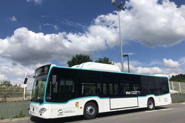 Rennes, des bus au gaz pour une ville plus respirable