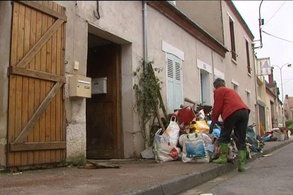 A Montargis, le nettoyage a commencé