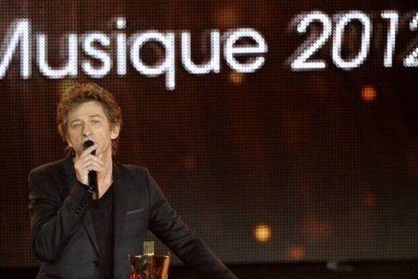 Hubert Félix Thiéfaine aux Victoires de la musique 2012