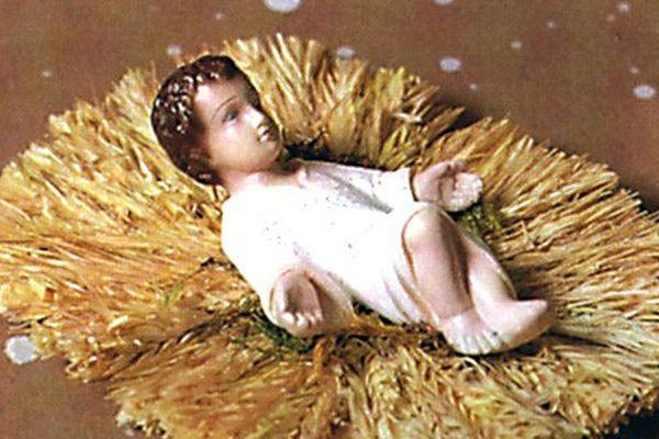 Jésus crèche de Noël
