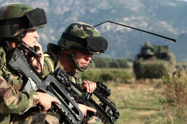 Légionnaires du 2e REP en exercice dans la région de Calvi, en 2010.