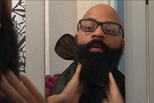 Neil a été sélectionné pour les championnats de France de barbe!
