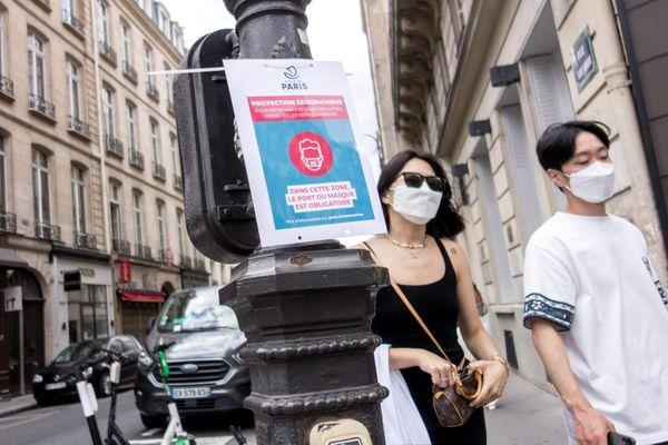 Le port du masque sera obligatoire dans toutes les rues de Paris.
