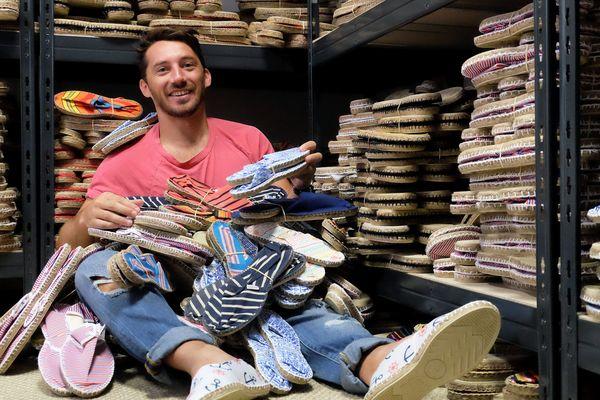 Olivier Gelly, le créateur de la marque d'espadrilles Payote - Juin 2017