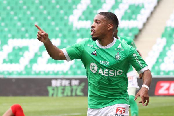 Le 9 Mai 2021, Stade Geoffroy-Guichard, Saint-Etienne (42). Arnaud NORDIN (ASSE)
