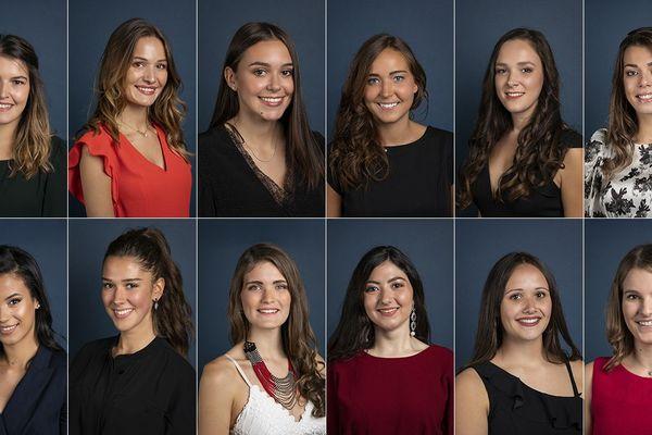 Douze candidates sont en lice pour devenir Miss Auvergne le 18 octobre prochain.