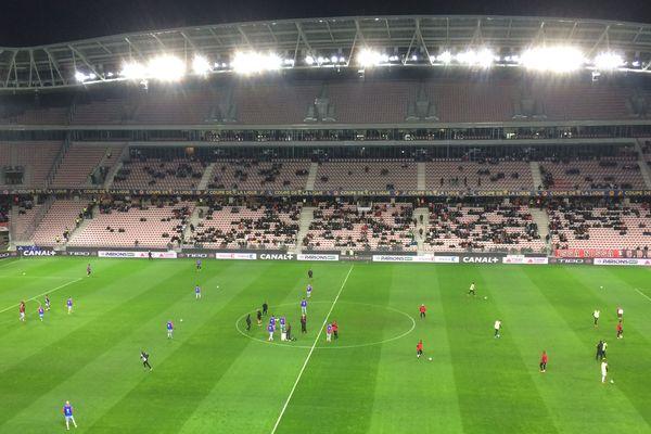 L'OGC Nice reçevait l'AS Monaco en quarts de finale de la Coupe de la Ligue.