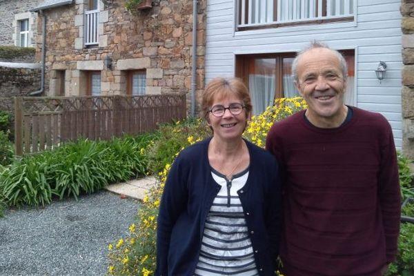 Armelle et François Lec'hvien, propriétaires de gîtes à Ploubazlanec depuis 30 ans