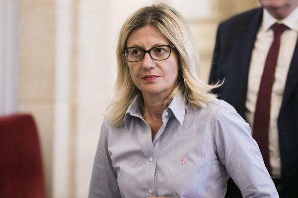 La députée de la Haute-Savoie Frédérique Lardet pendant la séance de questions au gouvernement, le 24 septembre 2019.