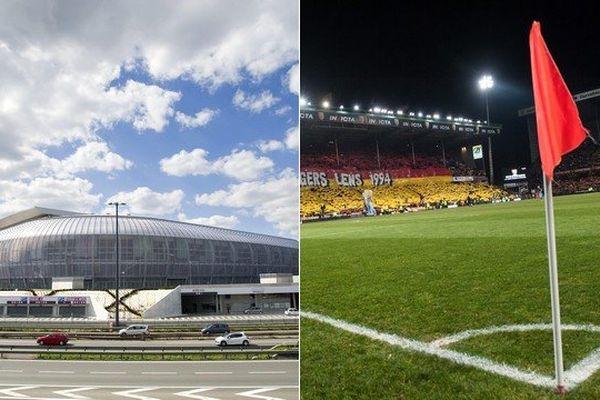 6 matches au Stade Pierre-Mauroy, 4 à Bollaert-Delelis.