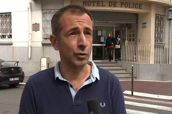 """Les policiers de Narbonne sont """"dans une profonde souffrance"""", selon David Leyraud, du syndicat Alliance Police nationale - 25 septembre 2017"""