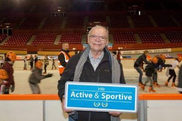 Sadok Bouzaiene est l'adjoint aux Sports du maire de Grenoble.