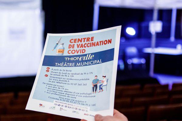 Le théâtre est redevenu essentiel...pour les vaccins.
