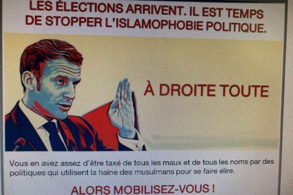 Tract Union des Démocrates Musulmans Français