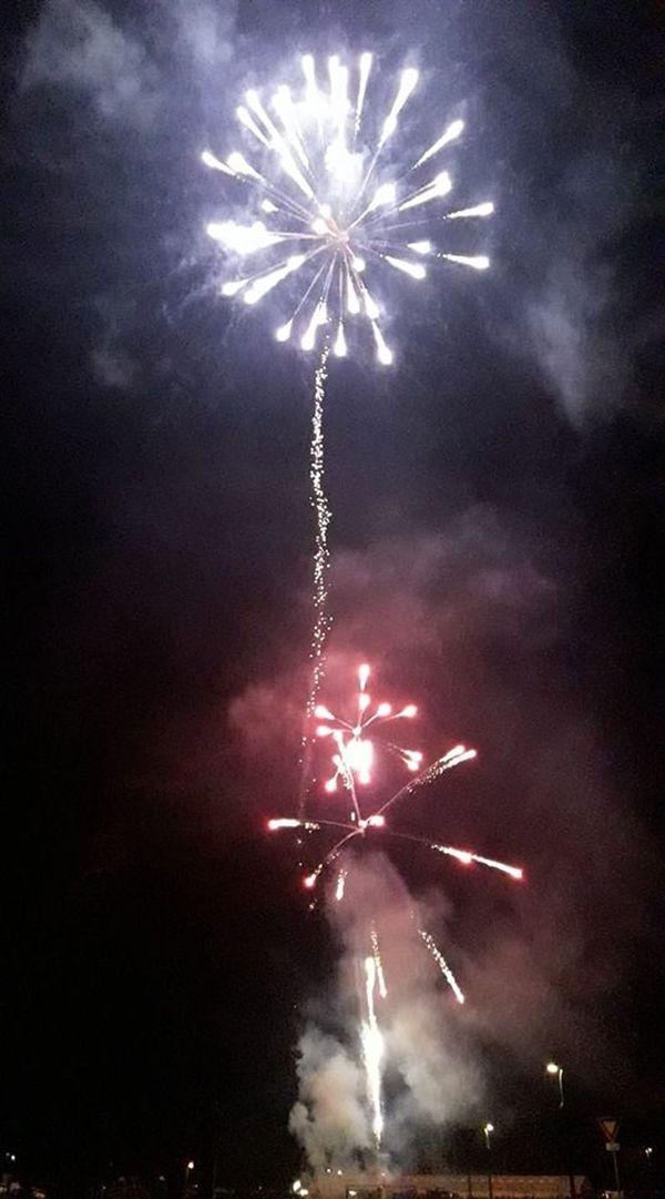 Le feu d'artifice de Mommenheim.