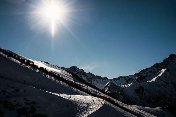 Le soleil sera au rendez-vous pour le Nouvel An dans les Alpes du nord. Photo d'archives.