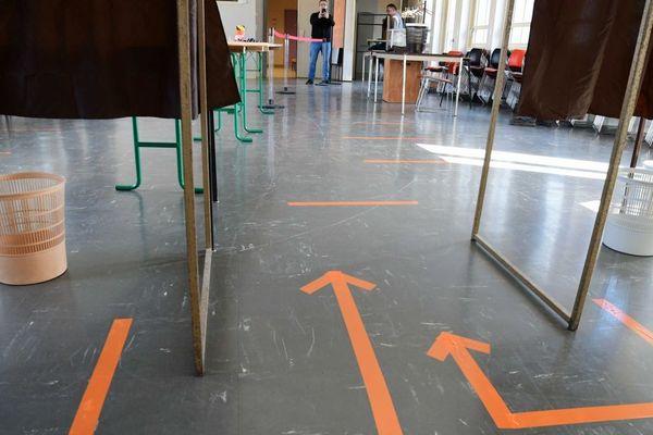 Illustration - Les bureaux de votes sont prêts à recevoir les électrices et les électeurs