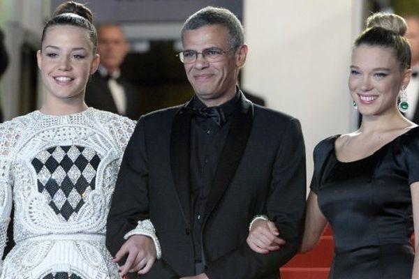 """""""La vie d'Adèle"""", meilleur film du Festival de Cannes, contesté pour les conditions de travail de ses techniciens"""