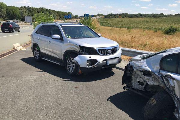 Cinq voitures et un poids-lourd ont été impliqués dans l'accident qui s'est produit en fin de matinée sur l'A83 dans les Deux-Sèvres.