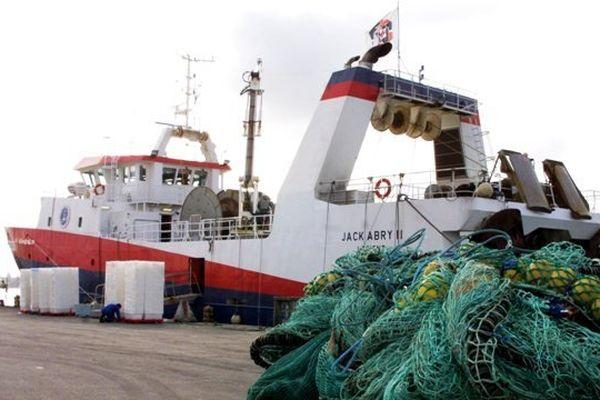Le jack Abry II de la Scapêche au port de Lorient