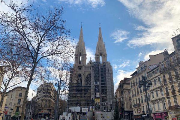 Le chantier de restauration de l'église des Réformés va se poursuivre jusqu'en 2022.