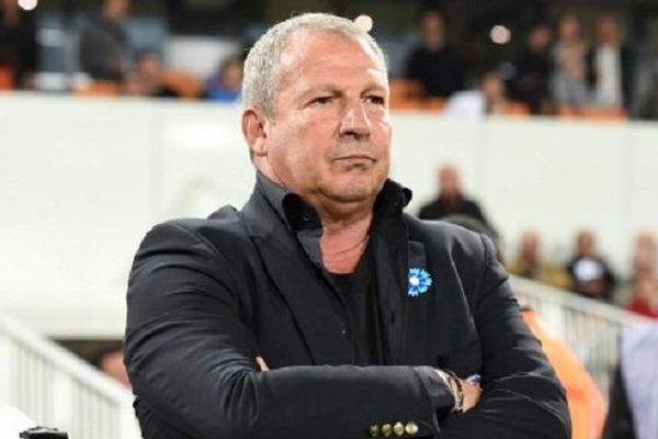 Rolland Courbis, lorsqu'il était entraîneur du MHSC Montpellier - 07/11/2015