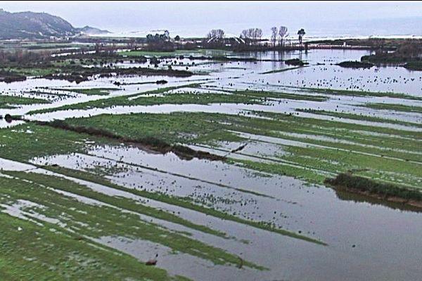 Inondations, les dégâts vue du ciel en Corse-du-Sud