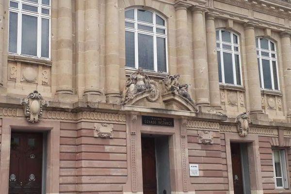 Le tribunal de grande instance de Belfort. (ADELINE DIVOUX / FRANCE-BLEU BELFORT-MONTBÉLIARD)