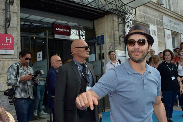 L'acteur Tahar Rahim, au festival du film d'Angoulème, en août 2017.