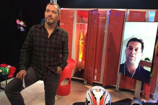 """Florian Plantard (Co-entraîneur Voltigeurs de Châteaubriant) est cette semaine l'invité d'Anthony Brulez dans """"Une Semaine en Ballon"""""""