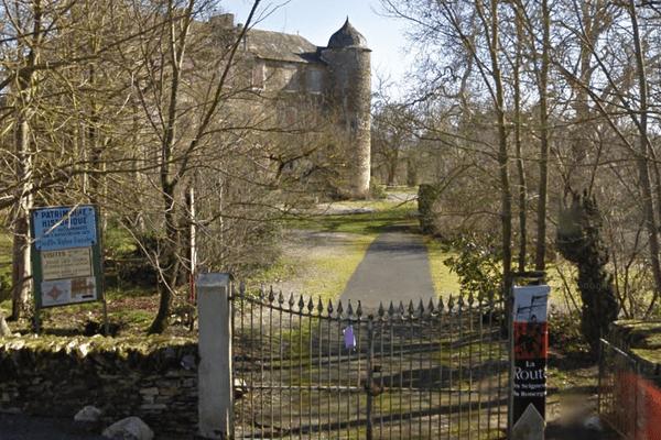 Le château du Bosc, à Camjac, en Aveyron, où Henri de Toulouse-Lautrec passa une partie de son enfance.